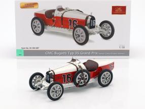 Bugatti Type 35 Grand Prix #16 Nation Colour Project monaco 1:18 CMC