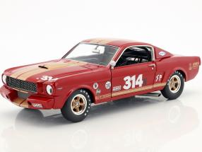 Ford Mustang Shelby GT350H #314 Baujahr 1966 red with gold stripes 1:18 GMP
