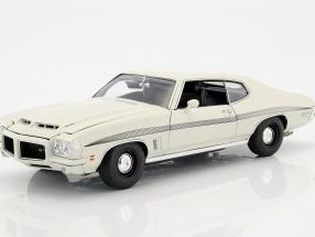 Pontiac LeMans GTO year 1972 white 1:18 GMP