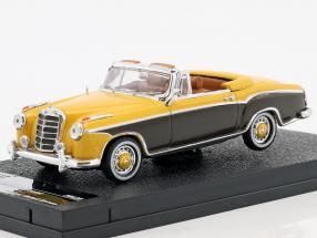 Mercedes-Benz 220 SE Cabriolet year 1958 yellow / brown 1:43 Vitesse