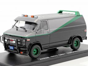 B.A.'s GMC Vandura year 1983 TV series The A-Team (1983-87)  green version 1:43 Greenlight