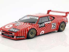 BMW M1 #35 6h Silverstone 1981 Stuck, Heyer 1:18 Minichamps