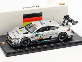 Mercedes-Benz AMG C 63 #2 150th Mercedes Race Lausitzring DTM 2017 Gary Paffett 1:43 Spark