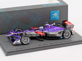 Sam Bird #2 Winner New York ePrix Season 3 formula E 2016/17 1:43 Spark