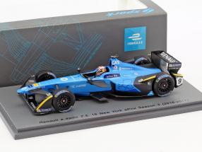 Pierre Gasly #9 New York ePrix Season 3 formula E 2016/17 1:43 Spark