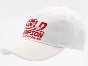 Michael Schumacher Cap World Champion weiß
