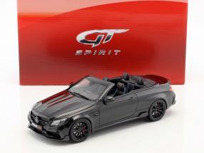 Brabus 650 Cabriolet year 2017 black 1:18 GT-Spirit