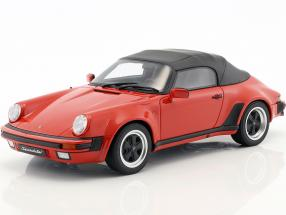 Porsche 911 3.2 Speedster With softtop year 1989 red 1:18 GT-Spirit