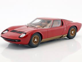 Lamborghini Miura P400S Baujahr 1969 rot 1:18 GT-Spirit
