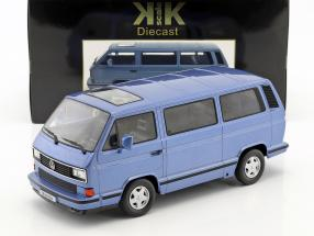 Volkswagen VW Bus T3 Blue Star Baujahr 1993 hellblau metallic 1:18 KK-Scale