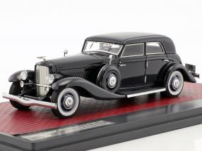 Duesenberg JN 559-2587 Sedan LWB Rollston Baujahr 1935 dunkelblau 1:43 Matrix