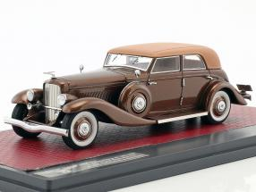 Duesenberg JN 559-2587 Sedan LWB Rollston Baujahr 1935 braun 1:43 Matrix