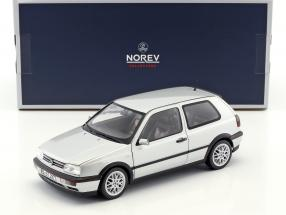 Volkswagen VW Golf III GTI year 1996 20 years GTI silver metallic 1:18 Norev