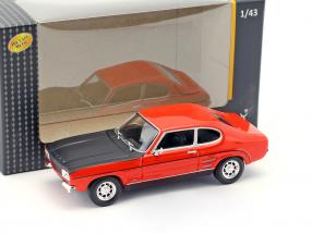 Ford Capri red / black 1:43 Cararama