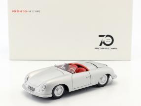 Porsche 356 Nr.1 Baujahr 1948 Edition 70 Jahre Porsche silber 1:18 AUTOart