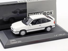 Opel Kadett GSI year 1986 white 1:43 WhiteBox