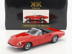 Ferrari 365 California Spyder Year 1966 red 1:18 KK-Scale