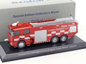 Scania DC13 Angloco Fire Engine Leah-Millie LSA047 rot 1:76 Atlas