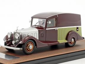 Rolls-Royce 20/25 Vincent Van year 1933 dark red 1:43 GLM