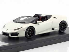 Lamborghini Huracan LP 580-2 Spyder perlweiß 1:43 LookSmart