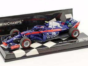 Pierre Gasly Scuderia Toro Rosso STR13 #10 Formel 1 2018 1:43 Minichamps