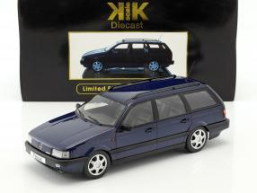 Volkswagen VW Passat B3 Variant Year 1988 blue 1:18 KK-Scale