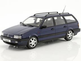 Volkswagen VW Passat B3 Variant Baujahr 1988 blau 1:18 KK-Scale
