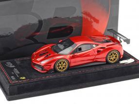 Ferrari 488 Challenge Baujahr 2016 feuer rot metallic 1:43 BBR
