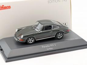 Porsche 911 S Steve McQueen MovieCar Film Le Mans (1971) grau 1:43 Schuco