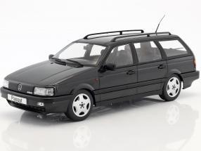 Volkswagen VW Passat B3 Variant Year 1988 black 1:18 KK-Scale