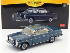 Mercedes-Benz Strich 8 coupe year 1973 dark blue 1:18 Sun Star