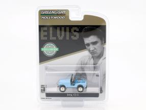 Jeep CJ-5 Elvis Presley 1935-1977 sierra blue 1:64 Greenlight