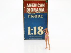 calendar Girl March in bikini 1:18 American Diorama