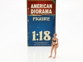 calendar Girl April in bikini 1:18 American Diorama