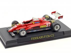 Gilles Villeneuve Ferrari F126 C2 #27 Formel 1 1982 1:43 Altaya