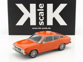 Audi 100 Coupe S Baujahr 1970 orange 1:18 KK-Scale