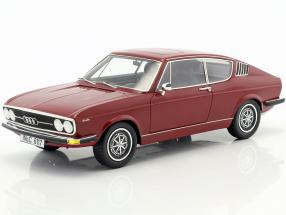 Audi 100 Coupe S Year 1970 dark red 1:18 KK-Scale