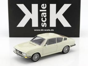 Audi 100 Coupe S year 1970 white 1:18 KK-Scale