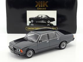 BMW 733i E23 Year 1977 black metallic 1:18 KK-Scale