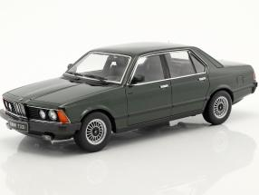 BMW 733i E23 Year 1977 dark green metallic 1:18 KK-Scale