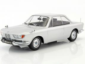 BMW 2000 CS coupe year 1965 silver 1:18 KK-Scale
