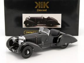 Mercedes-Benz SSK Count Trossi Der schwarze Prinz year 1930 black 1:18 KK-Scale