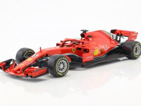 Sebastian Vettel Ferrari SF71H #5 Formel 1 2018 1:18 Bburago