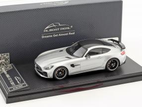 Mercedes-Benz AMG GT R Baujahr 2017 silber 1:43 Almost Real