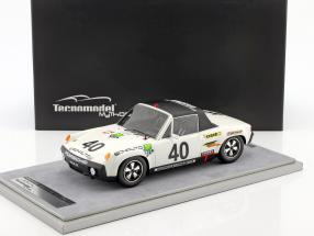 Porsche 914/6 #40 Klassensieger 24h LeMans 1970 Ballot-Lena, Chasseuil 1:18 Tecnomodel