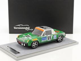 Porsche 914/6 #69 24h LeMans 1971 Quist, Krumm 1:18 Tecnomodel