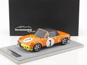 Porsche 914/6 #1 Winner Marathon de la Route 1970 Larrousse, Marko, Haldi 1:18 Tecnomodel