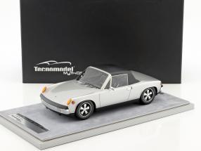 Porsche 914/6 Street Version Baujahr 1970 silber metallic 1:18 Tecnomodel