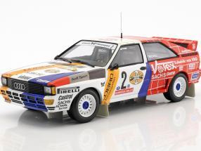 Audi Quattro A2 #2 Winner AvD/STH Hunsrück Rallye 1984 Demuth, Lux 1:18 Minichamps