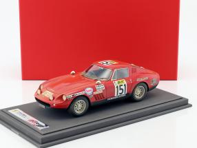 Ferrari 275 GTB/4 #151 Tour de France 1970 Dirty Version mit Vitrine 1:18 BBR